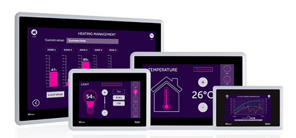 New versions of cost-effective, full functionality X2 base HMI panels